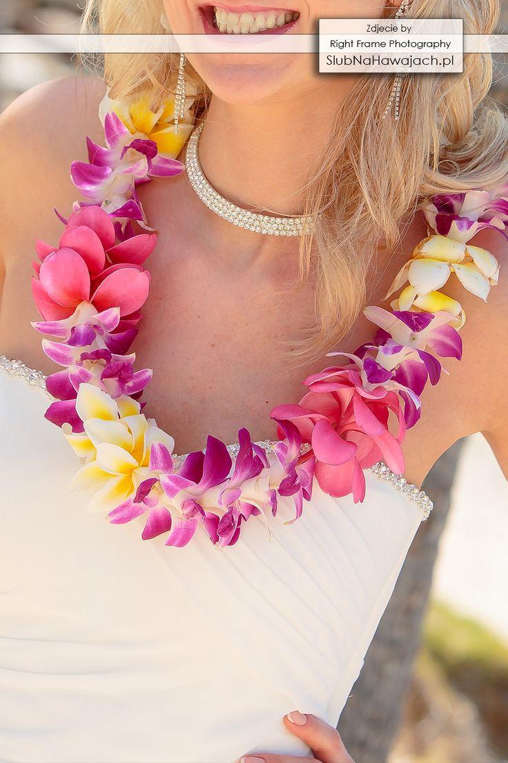 Hawaje, Slub na Hawajach, za granica, Slub w Tropikach, ślub na plaży, slub na plazy, ślub w plenerze, Egozytyczny, pomysl, sesja fotograficzna, śluby, wesele, Hawajski, bukiet slubny, kwiatki, lei, girlandy, naszyjnik, wieniec