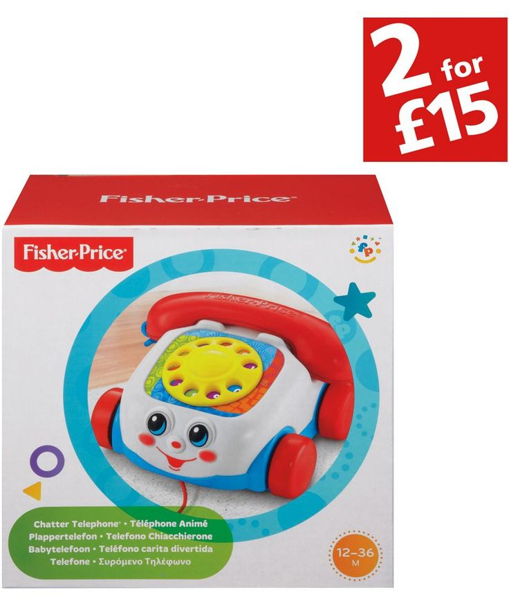 Buy Fisher-Price Chatter Telephone at Argos.co.uk - Your Online Shop for 2 for 15 pounds on Toys, Activity toys, School learning toys.