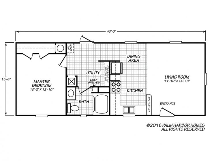 14x40 Floor Plans In 2020 Mobile Home Floor Plans Tiny House Floor Plans Tiny House Layout