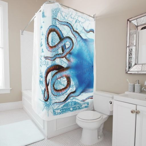 Whales family bathroom mat shower curtain on see more 1 blue whales
