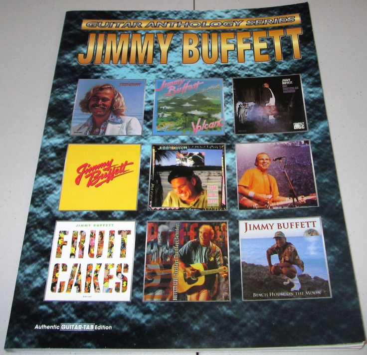 "Jimmy Buffett-""Guitar Anthology Series""-Warner Bros Song Book GUITAR-TAB Edition"