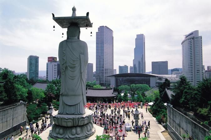 Seoul, South Korea: Fashion- and technology-forward but also deeply traditional, this dynamic city mashes up temples, palaces, cutting-edge design and mountain trails.