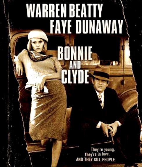 Bonnie and Clyde (1967) - Warren Beatty, Faye Dunaway, Michael J. Pollard, Gene Hackman, Estelle Parsons