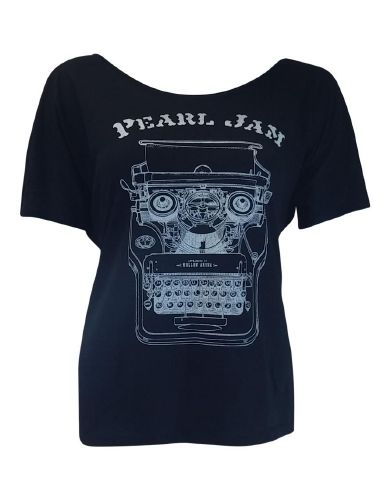 Pearl Jam Pittsburg Womens Flowy T-Shirt - Guaranteed Authentic.  Fast Shipping.