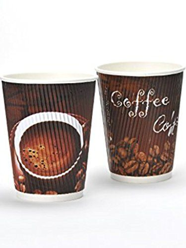 From 11.47 Disposable Coffee Cups - 100 X 12oz / 340ml Slick & Stylish Coffee Cups To Crush Your Caffeine Cravings!