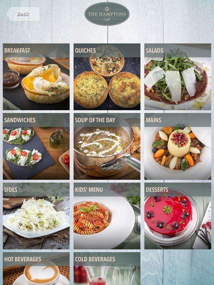 #tabletmenu #hamptons #ipadmenu #menu #menudesign #restaurantideas #food #dubai
