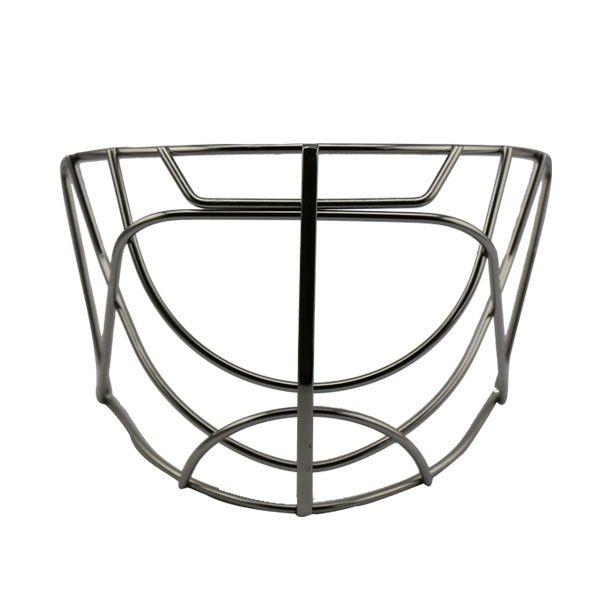 Ice hockey aksesoris peralatan stainless steel Wajah Sheild Kandang Masker untuk hoki kiper helm