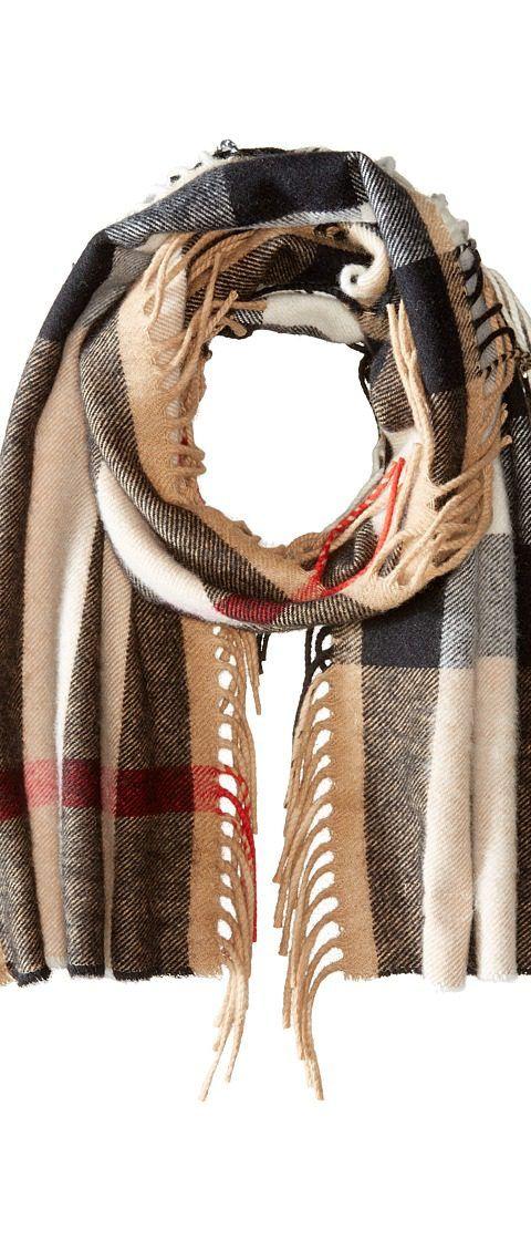 Burberry Kids The Fringe Giant Exploded Check Scarf (Little Kids/Big Kids) (Camel) Scarves - Burberry Kids, The Fringe Giant Exploded Check Scarf (Little Kids/Big Kids), 3991530-231, Accessories Scarves General, Scarves, Scarves, Accessories, Gift, - Stre