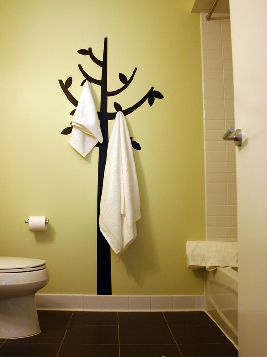 Intresting towel brBathroom Design, Pictures, Remodel, Decor and Ideas - page 120