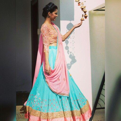 Visit us at www.varunajithesh.com  #IndianFashion, #IndianWedding, #DesiFashion, #DesiWedding, #lehengacholi, #lehenga, #weddinglehenga