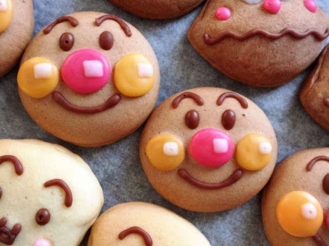 クッキー アンパンマン 家族で作りたい!アンパンマン/バイキンマンクッキー特集
