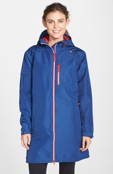 Helly Hansen 'Belfast' Long Jacket available at #Nordstrom