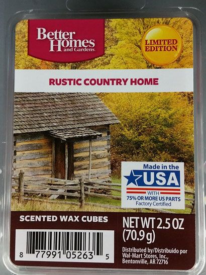 Better homes gardens rustic country home fall 2016 better homes gardens walmart for Better homes and gardens wax melts