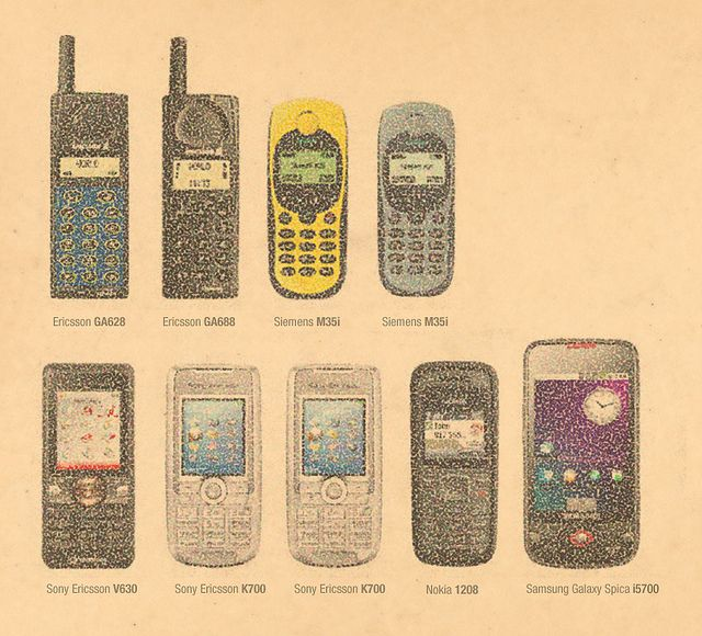 mobile phone history x