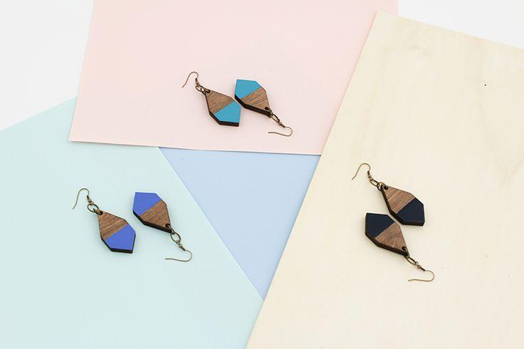 DIAMANTE earrings by MOIMOI Accessories
