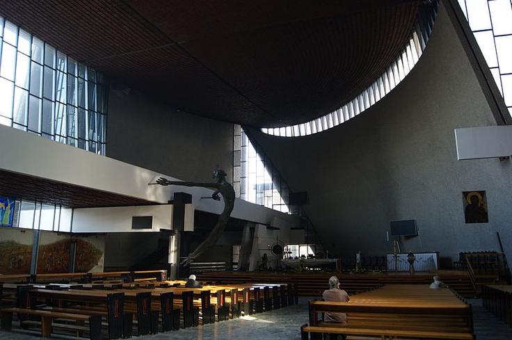 Church of Our Lady the Queen of Poland (Ark of Our Lord) Obroncow Krzyza street,Nowa Huta,Krakow,Poland | Wojciech Pietrzyk
