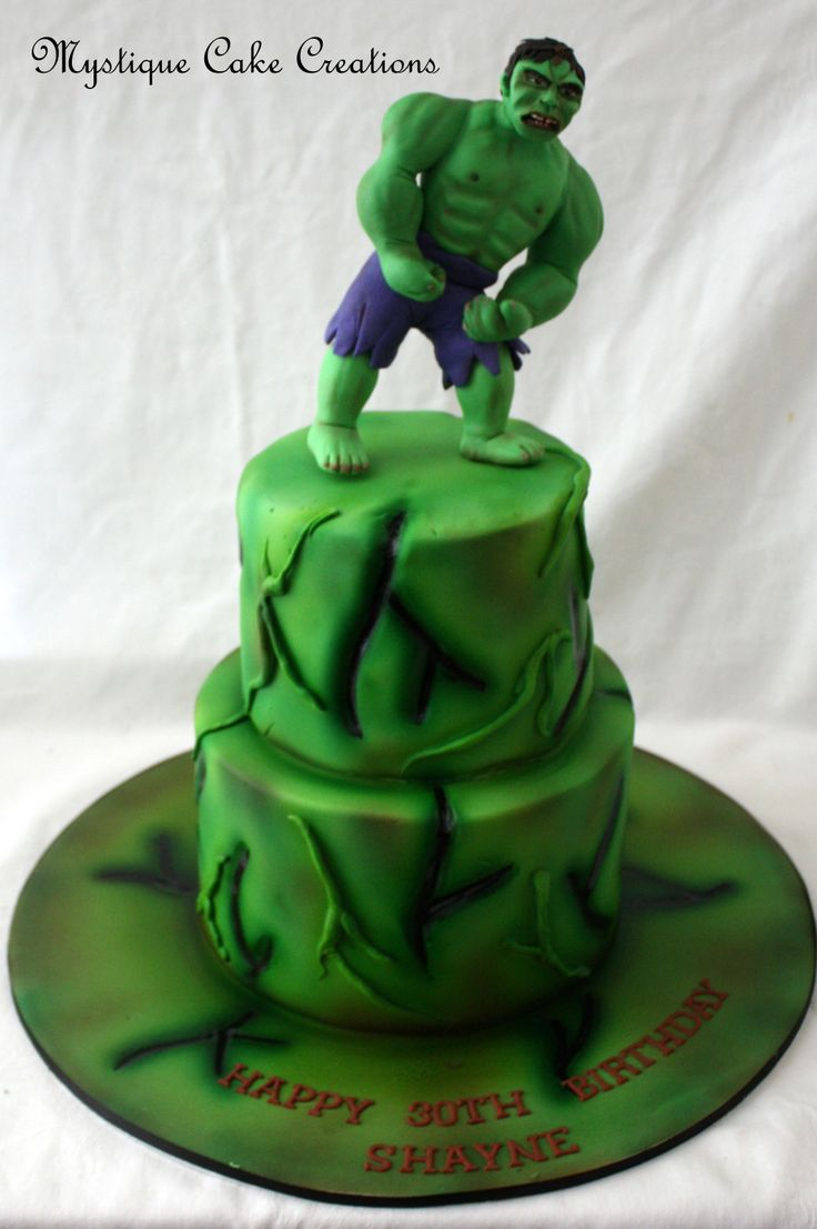Hulk Smash Cake Made By Mystique Cake Creations Perth Wa