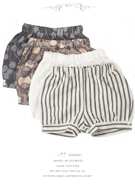 awesome I think my wee girl needs to spend the whole first summer in bloomers...