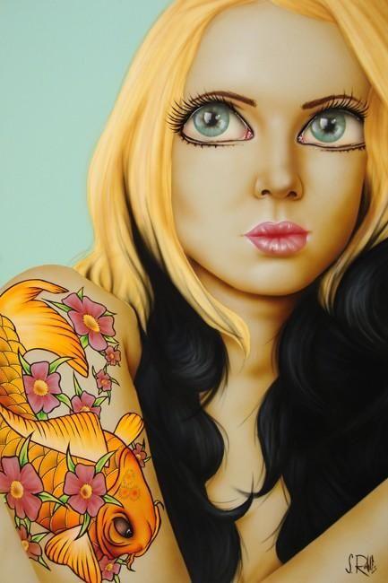 Биг фото поп блонд фото 34-738