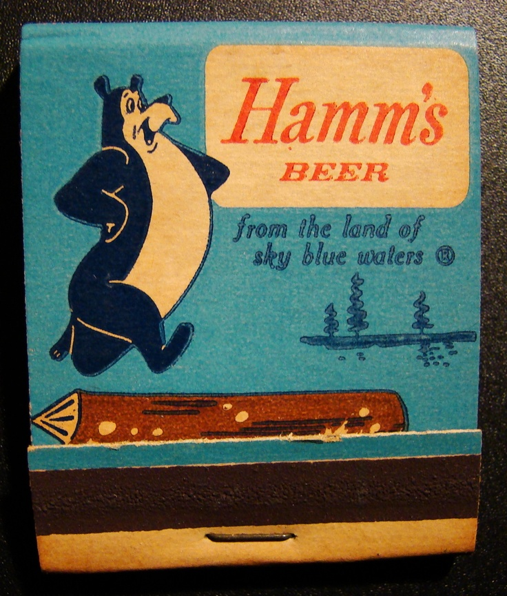 Hamms Beed #frontstriker #matchbook To Order your Business' own branded #matches GoTo: www.GetMatches.com or Call 800.605.7331 Today!