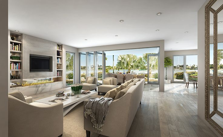 One of the expansive living areas of the Rembrandt 387 #GalleryHomes #LuxuryHomes #homedecor #DesignerHomes #RealEstate