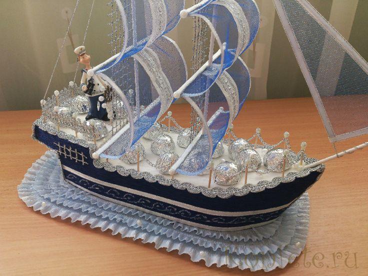 """Gallery.ru / Корабль """"Голубая Жемчужина"""" - Корабли и авто - elena-konopleva"""