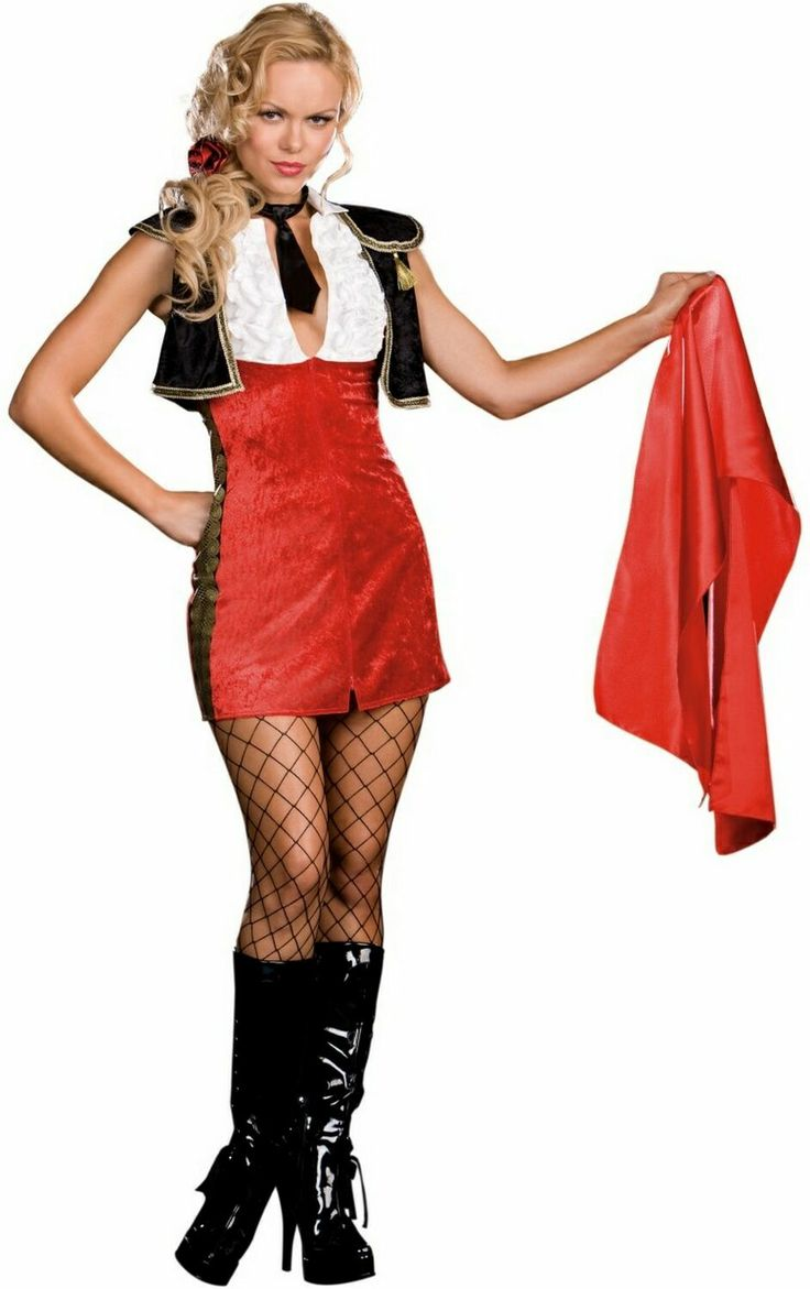 Spanish Matador Female Women Adult Halloween Costume  Around The World -4665