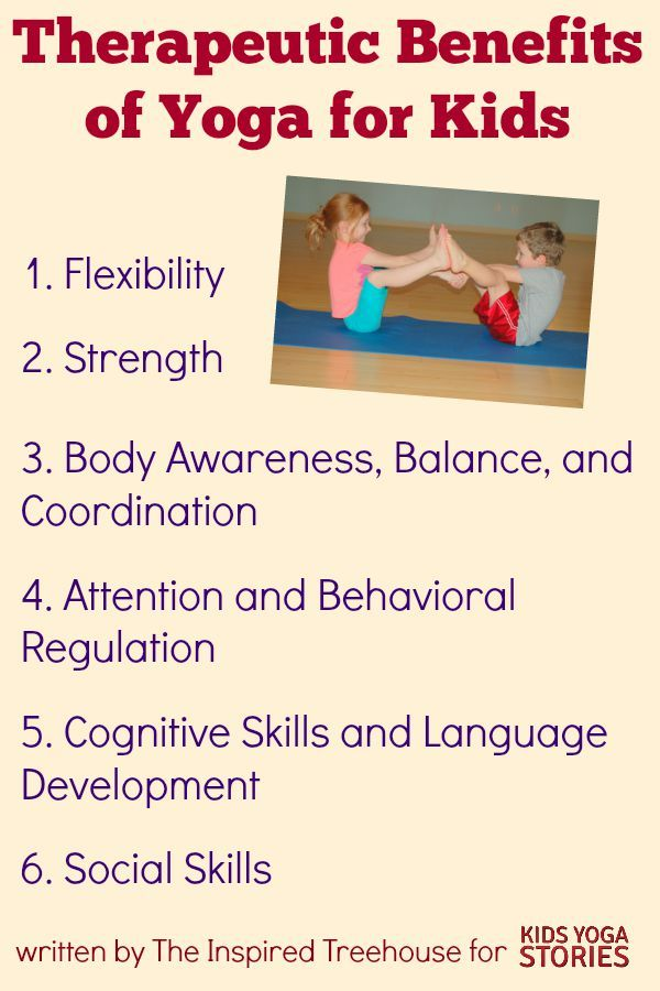 Therapeutic Benefits of Yoga for Kids | Head to, For kids ...