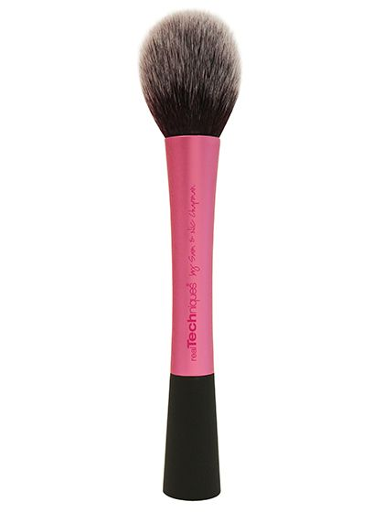 Ignore the name: The Real Techniques Blush Brush always picks up the right amount of bronzer, so there's no way to muddy things up.