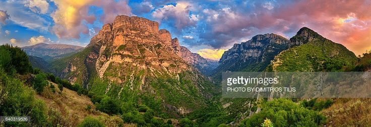 Vikos Gorge is the deepest canyon in the world, according to the Guinness Book