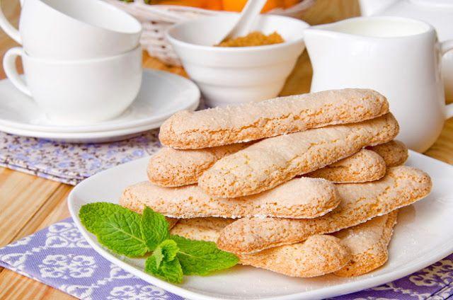 Marie Marinova: Бисквитное печенье Савоярди.