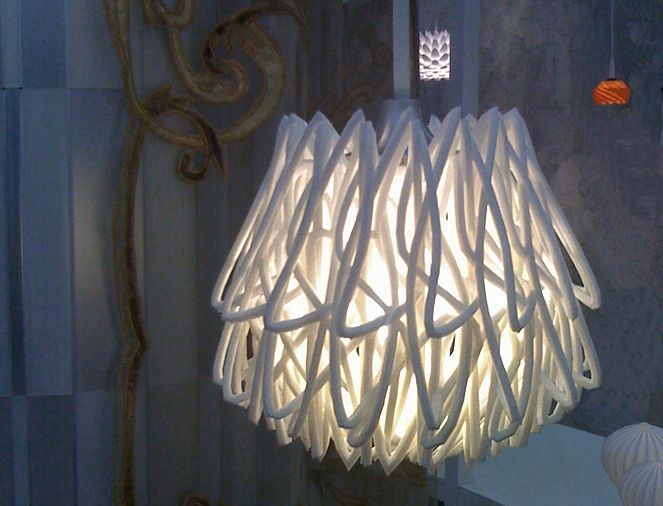 LIGHTING - 3D-Printed Lights - Faruno Light by Gabriel & Evenhuis