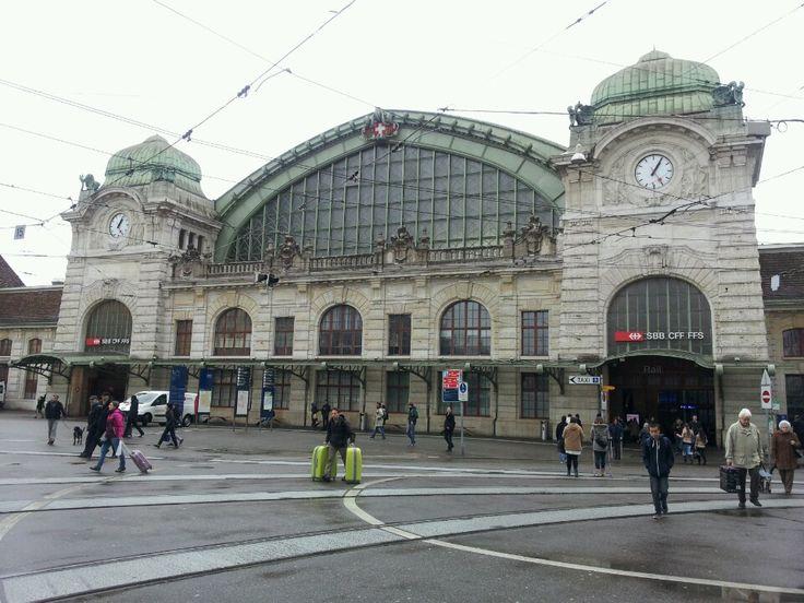 Bahnhof Basel SBB in Basel, Basel-Stadt