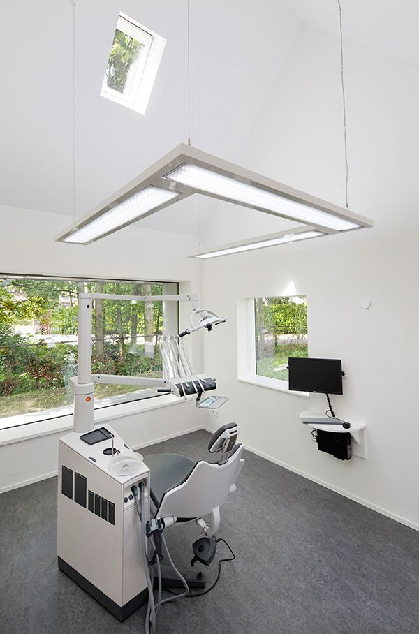 Stylish dental clinic in the Netherlands.
