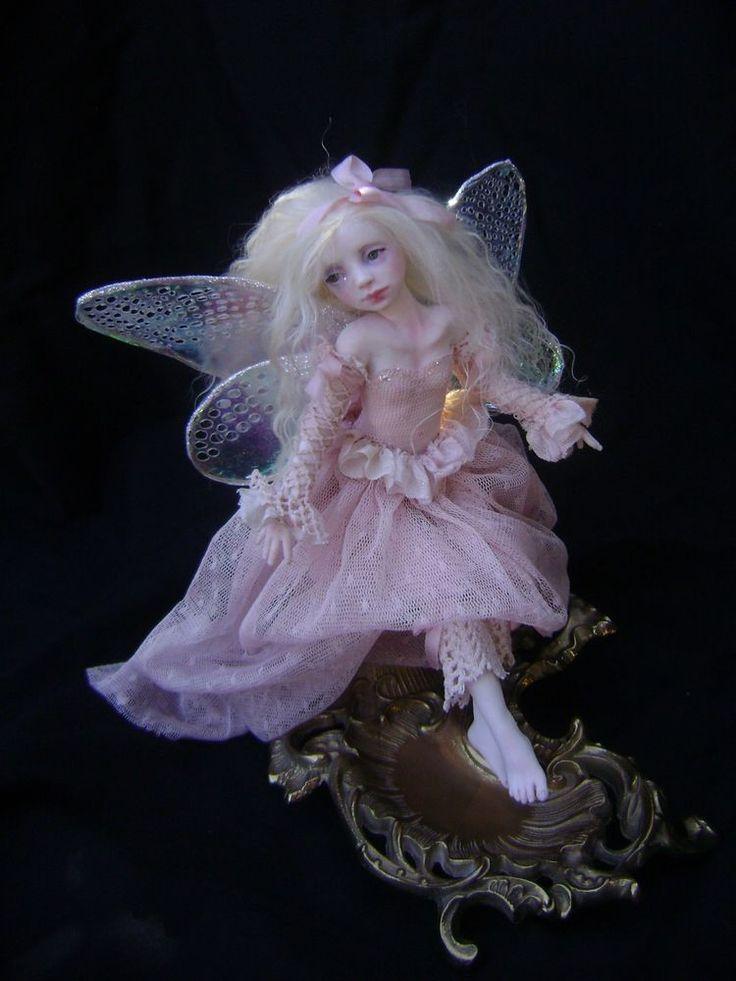 OOAK Art Doll Fairy Once We Were Faeries owwf J. A. Raley