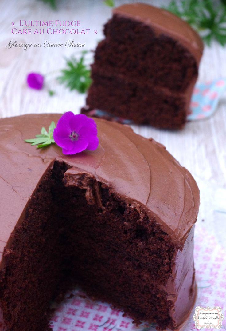 Gâteau Gourmand : {L'ultime fudge cake au chocolat, et son glaçage cream cheese} - Les Gourmands disent d'Armelle http://www.markal.fr/produit/lultime-fudge-cake-chocolat/