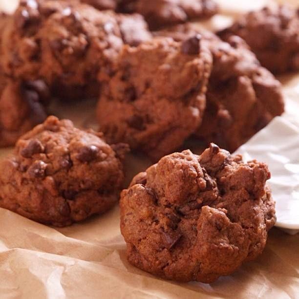 【バレンタインにもぴったり】サックサク!混ぜるだけの簡単チョコチップクッキーのつくり方  |  あさこ食堂