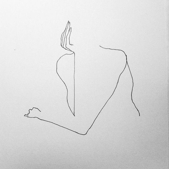 Woman waiting - Etude