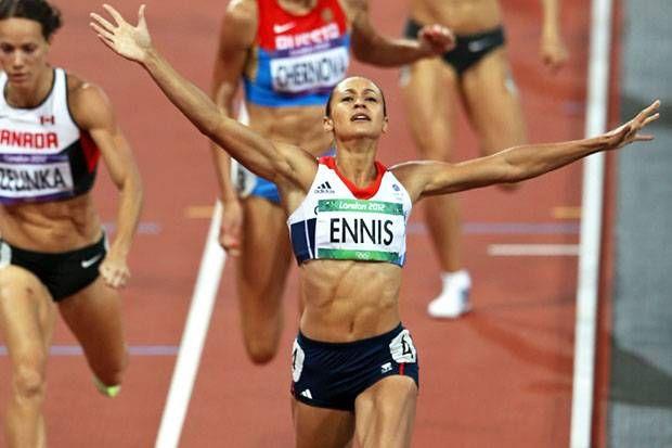 Complete athlete: Jessica Ennis