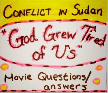 god grew tired of us essay questions This lesson draws from the documentary film god grew tired of us to teach students about concepts of migration, cultural mosaics, sense of place, and what questions and fears do the lost boys have about life in the us what questions and fears would you have if you were moving to a new place.