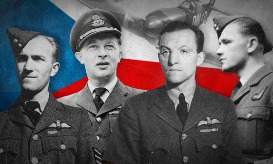 Z leva: Otto Hanzlíček, Otakar Hrubý, Josef Koukal, Karel Kunka