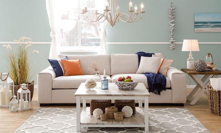 Wohnzimmer im Landhausstil #einrichten #wohnzimmer #schlafzimmer #dekoration #ha…  #badezimmerideen