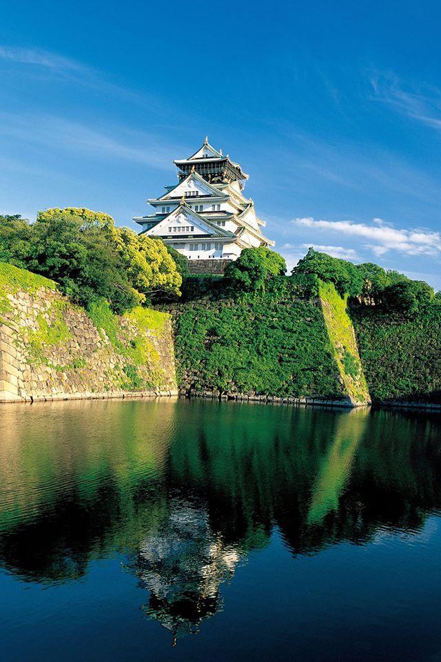 大阪城  osaka castle