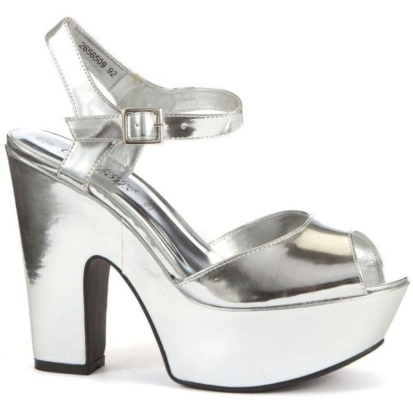1000  ideas about Silver Chunky Heels on Pinterest  Studded