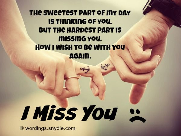 I Miss You Messages for Girlfriend Wordings and Messages ...