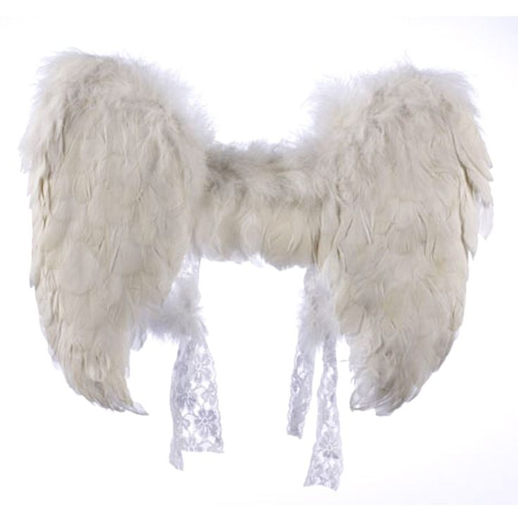 White Feather Angel Wings - Accessories & Makeup