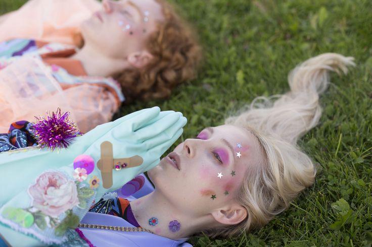 FLESH - Save the World, Vote for the Girl // SS 17 // Photographer : Alf Andreas Grønli Simensen // // MUA + hair : Andrea C. Andersen // Assistant : Vilde Marion Lauritzsen // Model : Silje Mari Stokka // Model : Ole Flem