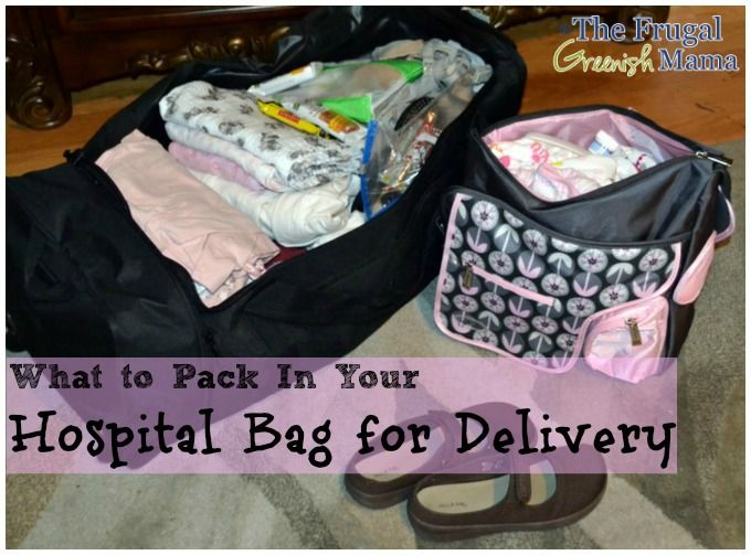 Baby Ideas Pinterest Hospital Bag Delivery And