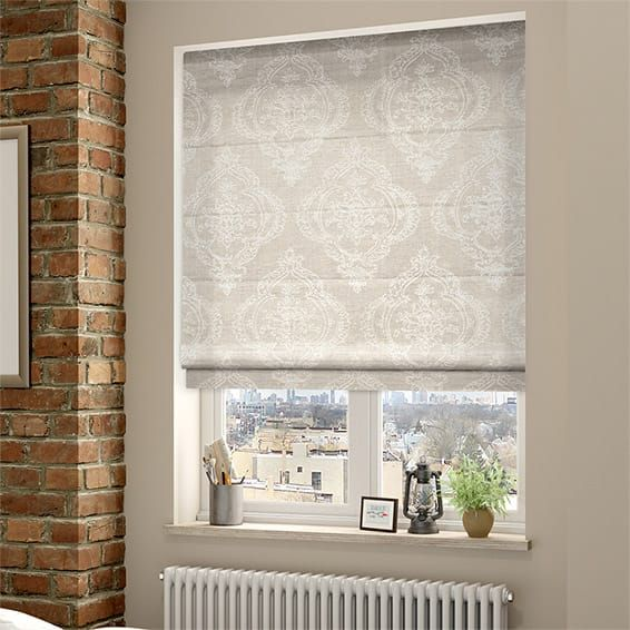 Chantilly Natural Roman Blind