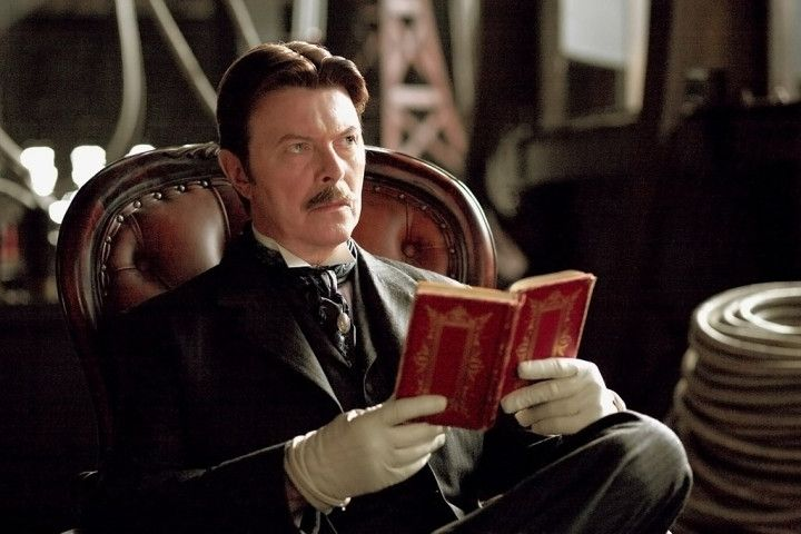 David Bowie in Historical Costume | movie 'The Prestige' HE WAS GREAT!
